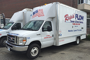 Rapid Flow video inspection truck